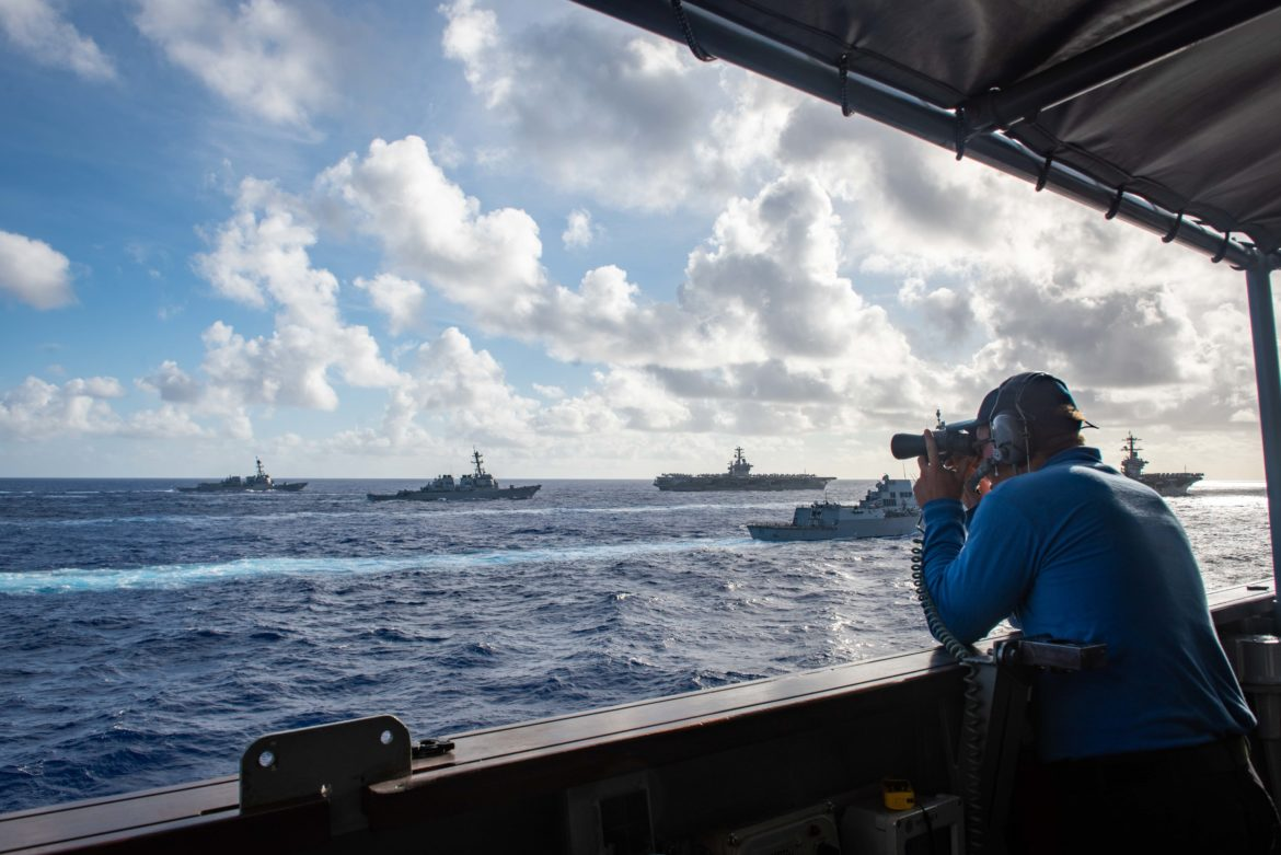 Nimitz Strike Group Participates in Second Dual-Carrier Operation in a Week
