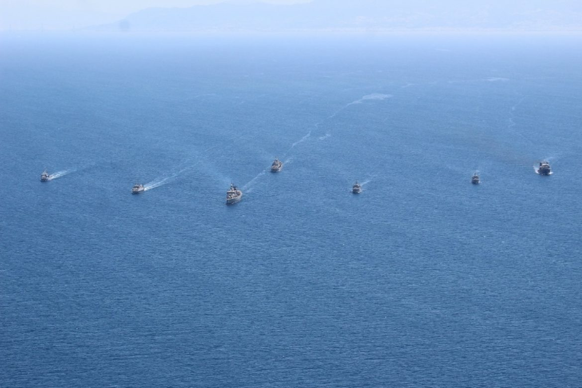 STANDING NATO MINE COUNTERMEASURES GROUP 2 PARTICIPATES IN GREEK EXERCISE