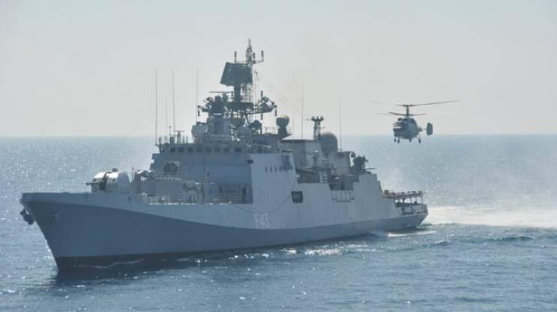 Indian Navy deploys warship in South China Sea after Galwan clash