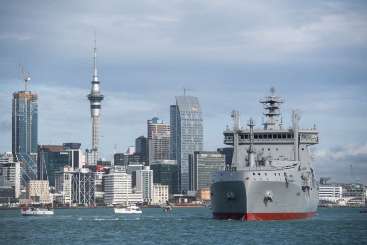 Royal New Zealand Navy commissions new fleet support vessel