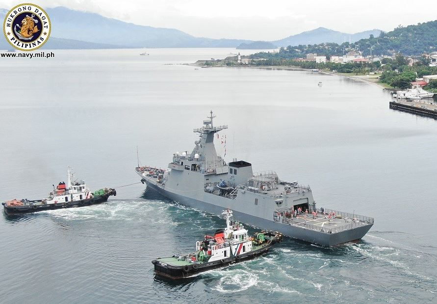 Philippine Navy's brand new frigate departs for RIMPAC 2020