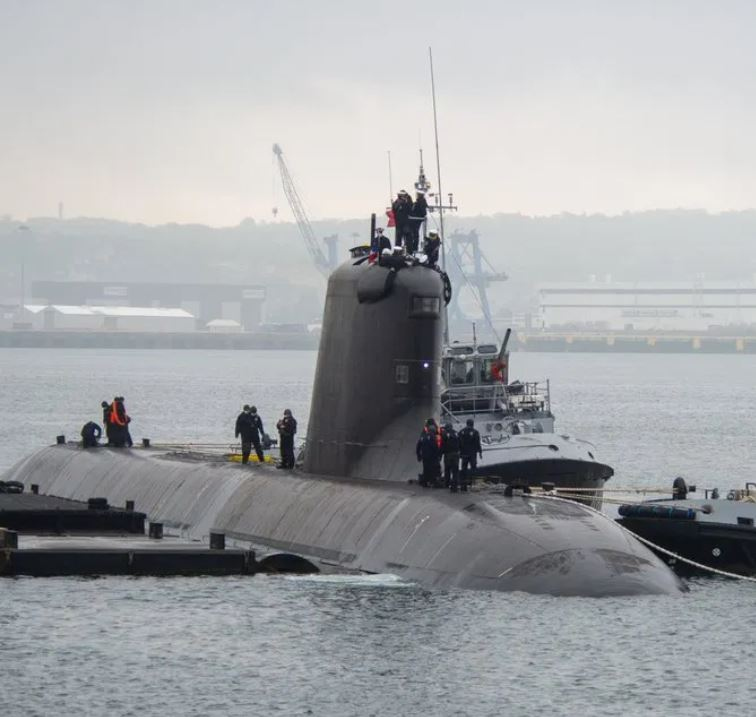 French Navy's attack submarine Suffren arrives in Toulon, ready for 2nd phase of trials