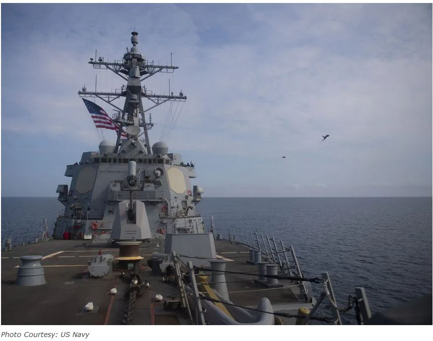 U.S. Navy and Royal Air Force conduct joint operations in the Black Sea