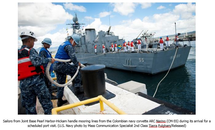 Boats, Budget, and Boots: The Colombian Navy's Challenges in International Cooperation