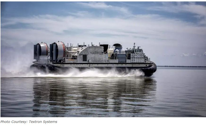 Textron Systems delivers 2nd Ship-to-Shore connector to the U.S. Navy