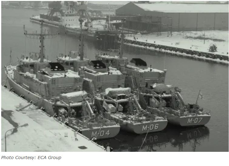 ECA Group wins a contract to modernize MCM vessels of Latvian Navy