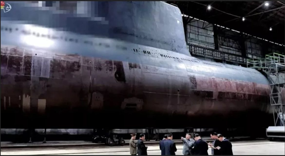 North Korea Reportedly Builds Two Submarines Able to Shoot Ballistic Missiles