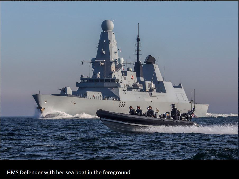 Destroyer Defender leads 'ships of the year' in Navy awards