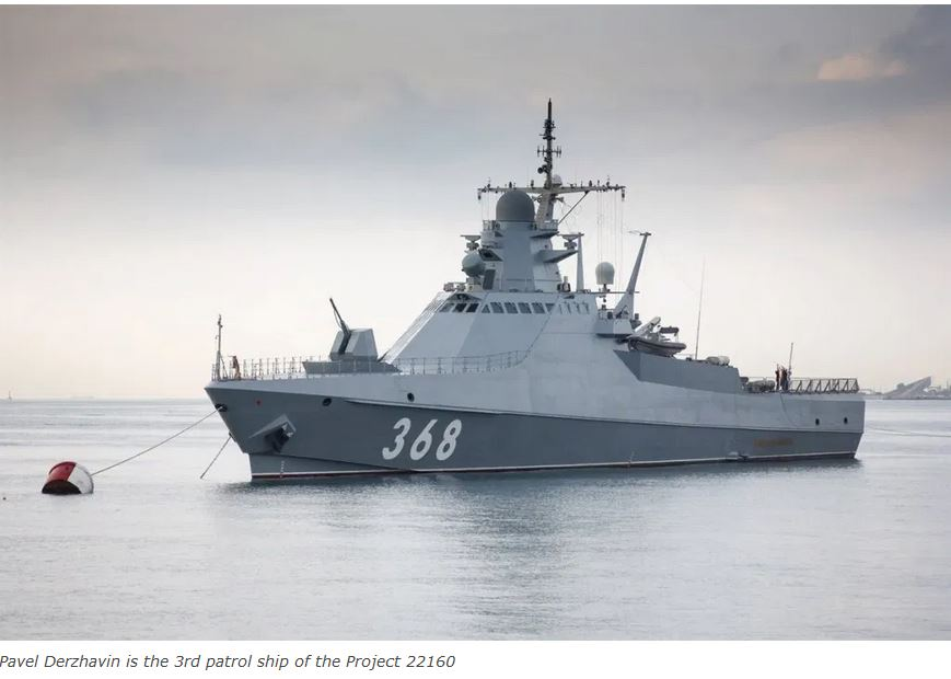 Latest patrol ship accepted for service in Russia's Black Sea Fleet