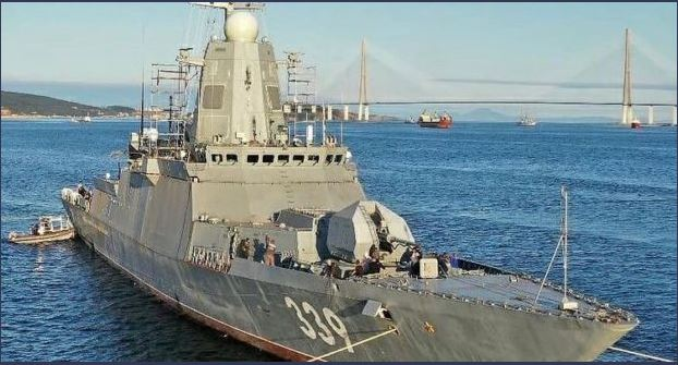 Three Russian heavy corvettes soon to be delivered to the Algerian navy