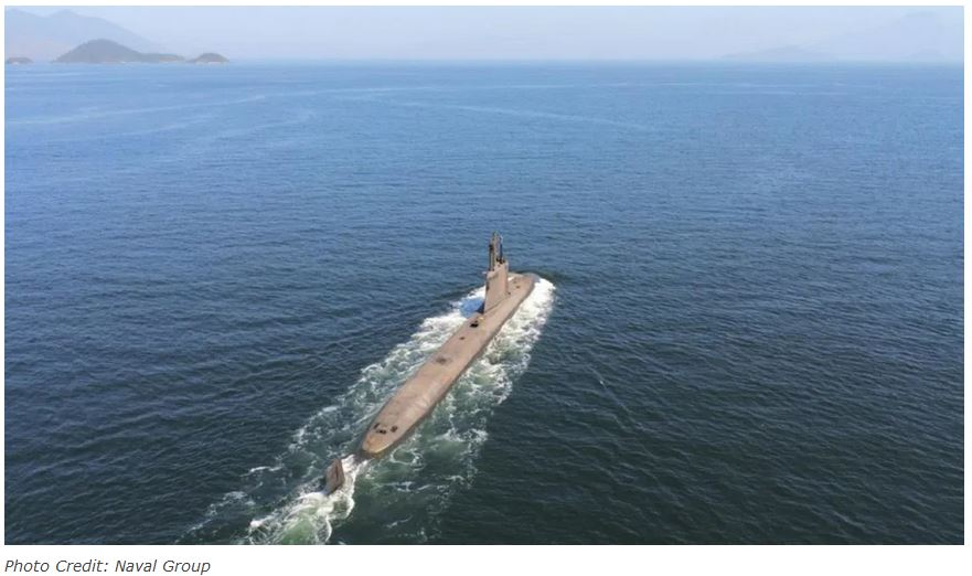 Brazil's first submarine of Prosub program completes first independent dive successfully