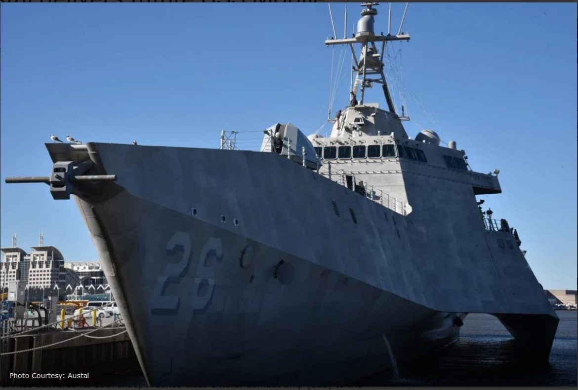Austal delivers future USS Mobile (LCS 26) to U.S. Navy