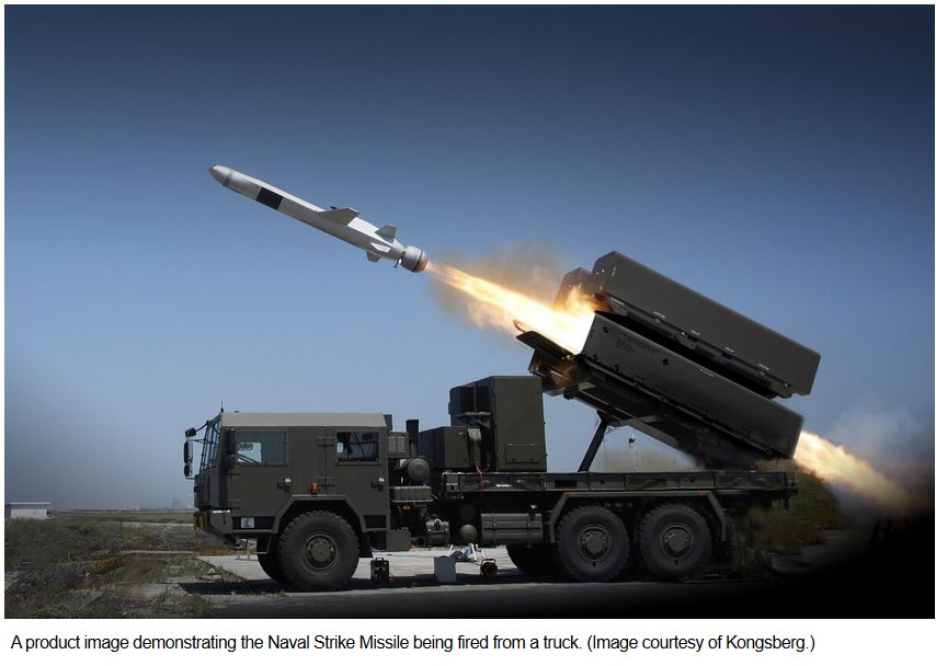 Romanian government approves Naval Strike Missile buy