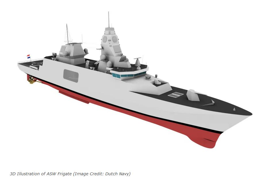 Netherlands and Belgium to replace M-class frigates with ASW Frigates