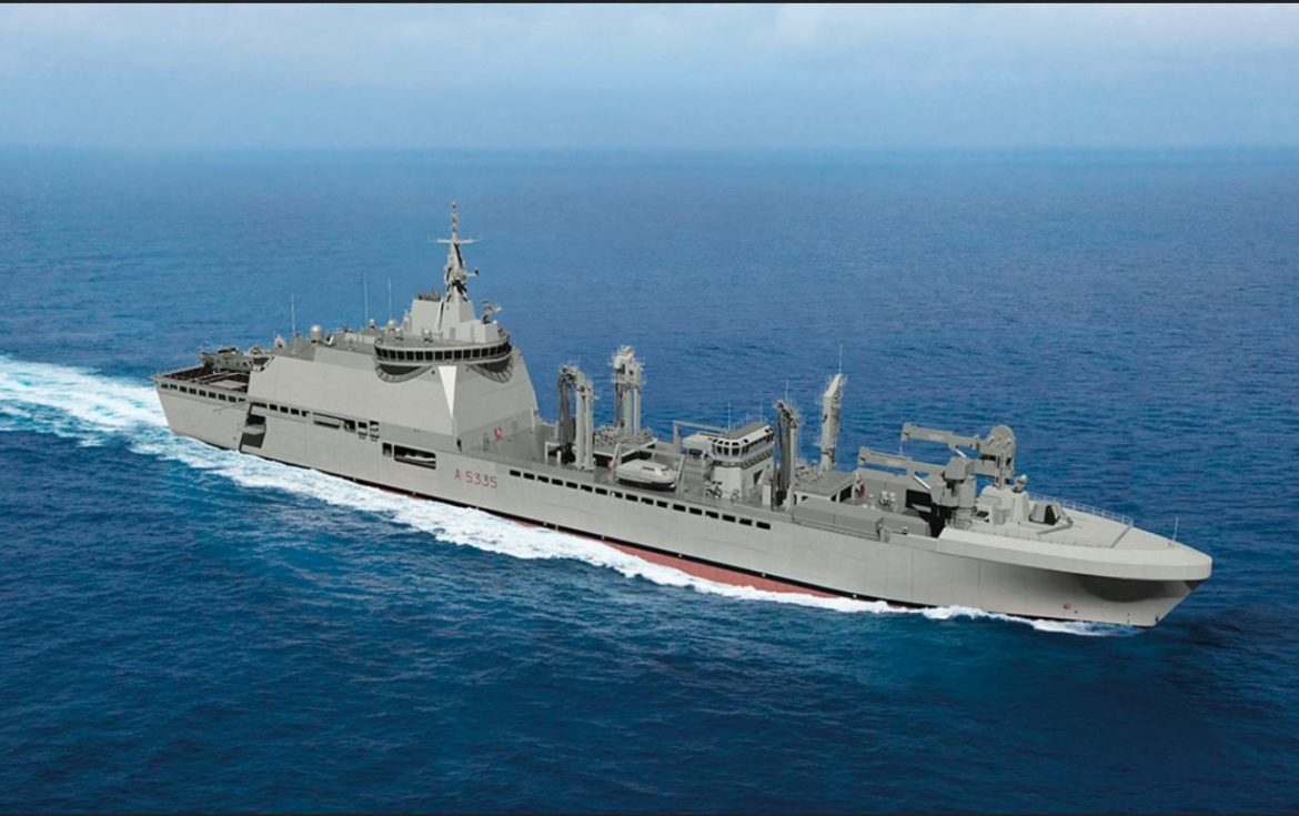 Damen secures steering gear contract for French Navy's four LSS newbuilds