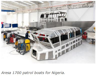 Nigerian Aresa patrol boats nearing delivery