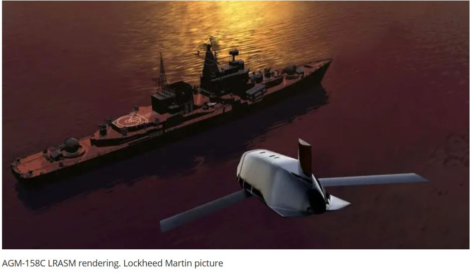 Lockheed Martin secures $414 Million order for LRASM anti-ship missile production