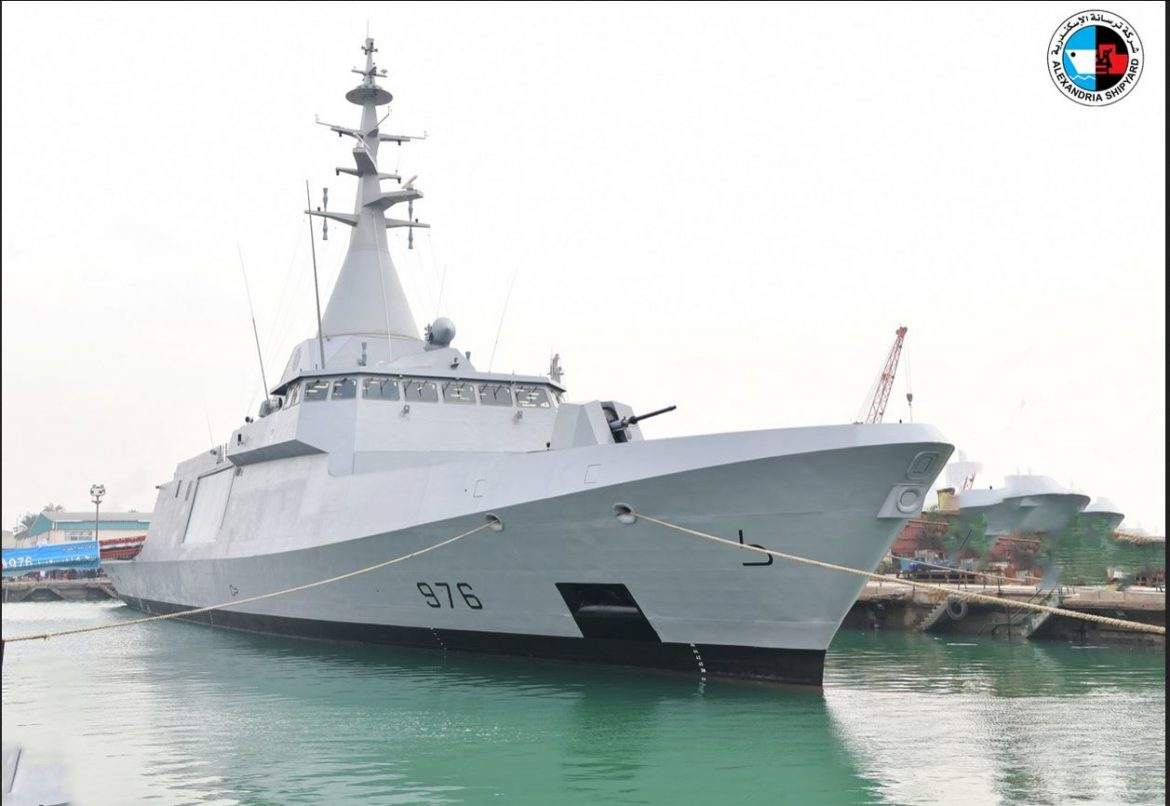 Egyptian Navy orders MBDA's new anti-air missiles for Gowind corvettes