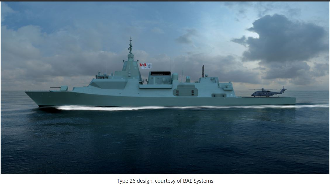 Report: Canadian Surface Combatant fleet to cost at least C$77.3 billion