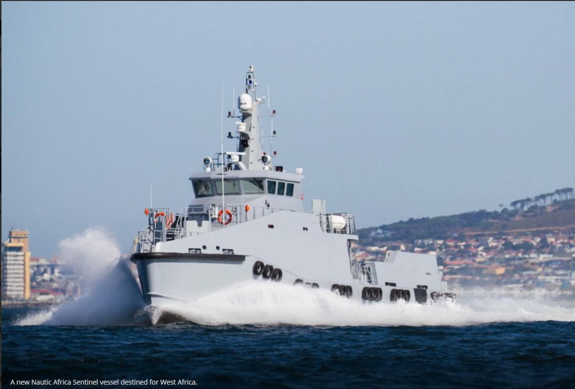Nautic Africa launches flagship 35 metre Sentinel vessel for Gulf of Guinea ops