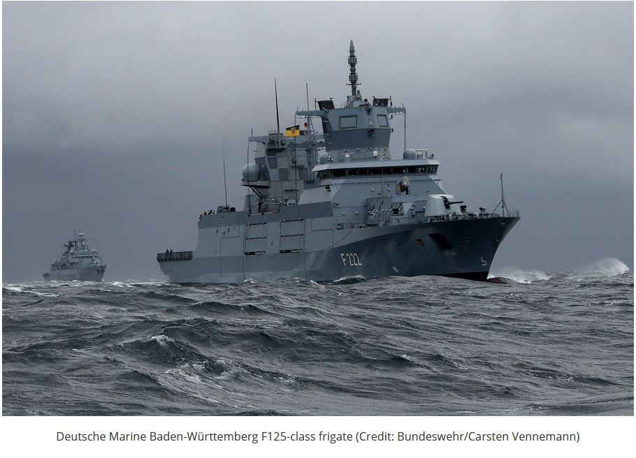 Germany's Third F125 Baden-Württemberg-Class Frigate Delivered by TKMS