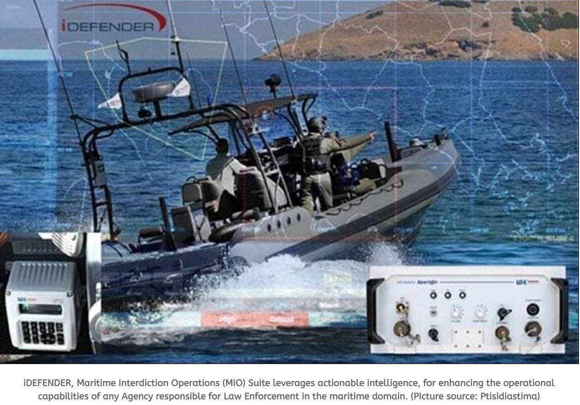 INTRACOM DEFENSE delivers additional surveillance capability to the Hellenic Navy
