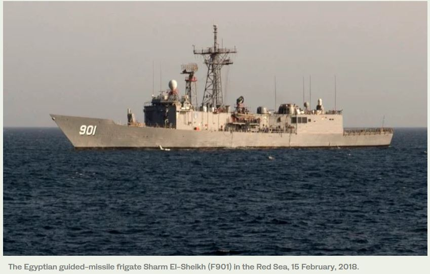 Egypt, US in Red Sea naval exercises to support regional security