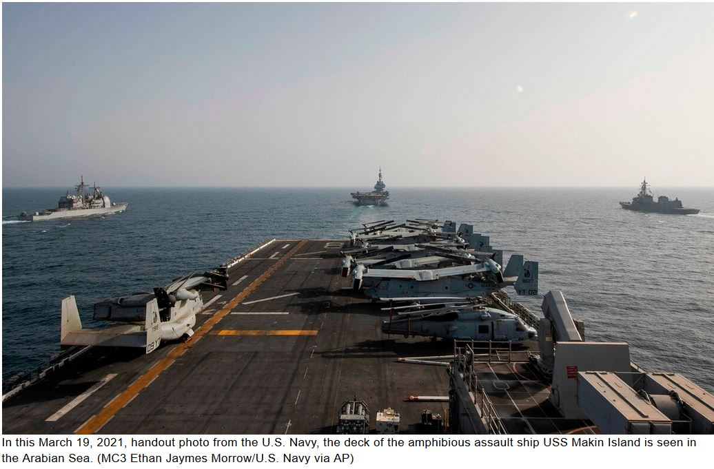US, Belgium, France and Japan hold Mideast naval exercise