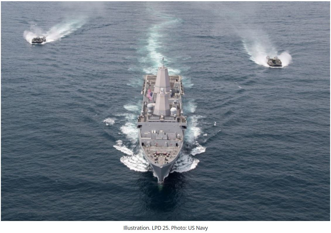 HII to provide support services for US Navy's LPD 17 class