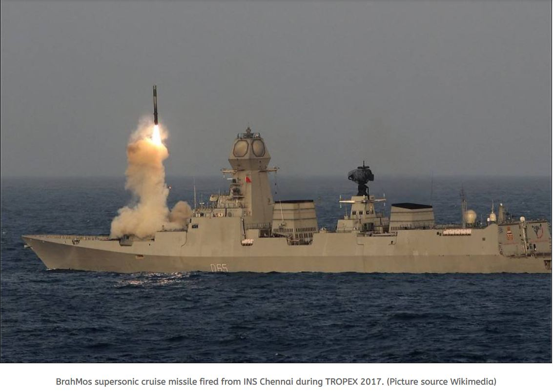 BrahMos ideal weapon for the Philippine Navy missile project