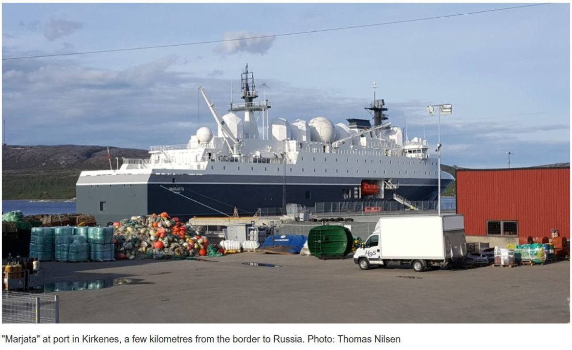 Engine supplier to Norwegian spy ship bought by Russian-controlled company