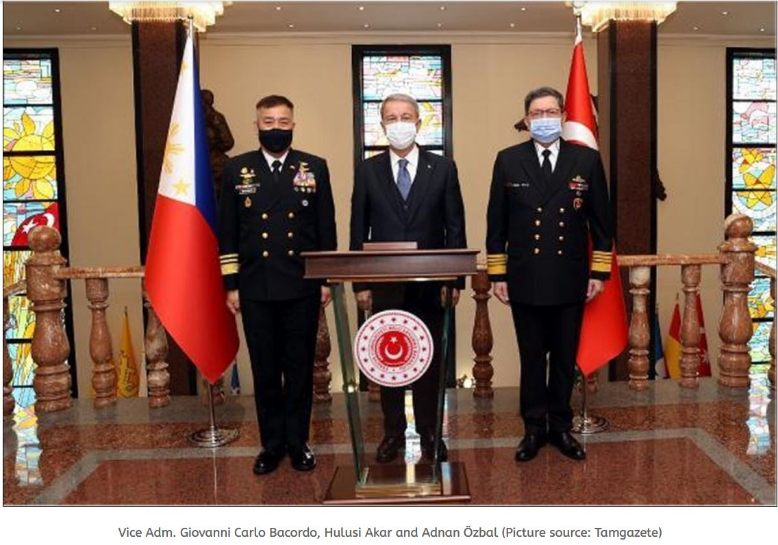 Association between Philippines and Turkey to modernize PH Navy