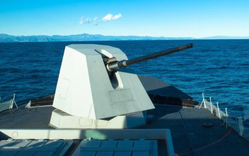 Leonardo to equip Canadian Surface Combatants with naval guns