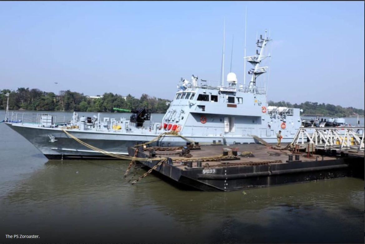 India hands over Zoroaster patrol vessel to the Seychelles