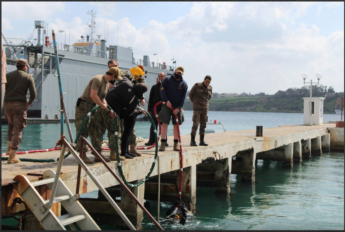 U.S. and Tunisian Divers Complete First Bilateral Dive Engagement in 10 years