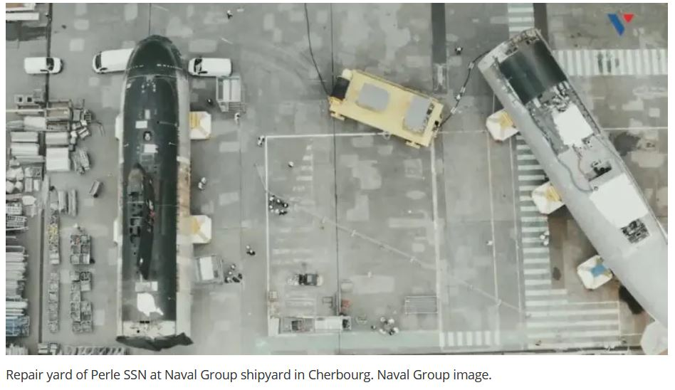 """Naval Group Started """"Transplanting"""" a Damaged SSN with a Decommissioned Submarine"""