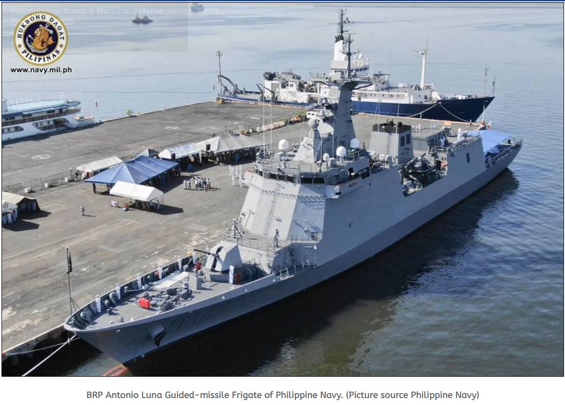 Philippine Navy has released fund project to acquire torpedoes for Jose Rizal-class frigates