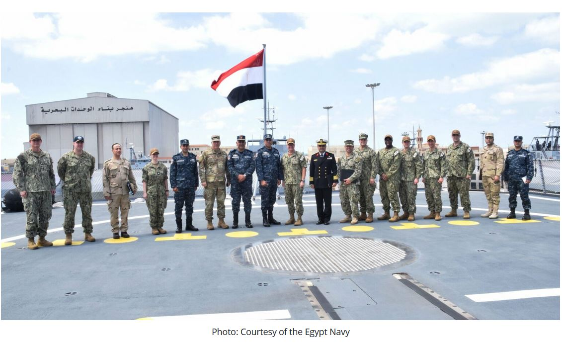 Egypt joins Combined Maritime Forces