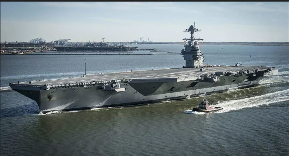 Satellite Photos Show China's Forthcoming Type 003 Carrier Comparable in Size to USS Ford
