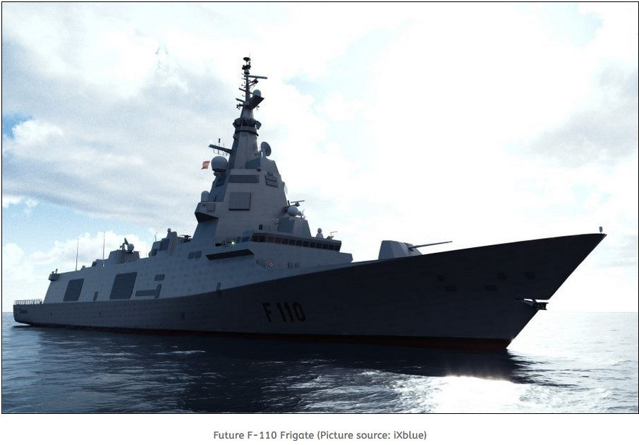 Spain proposes F110-class to Greece Navy
