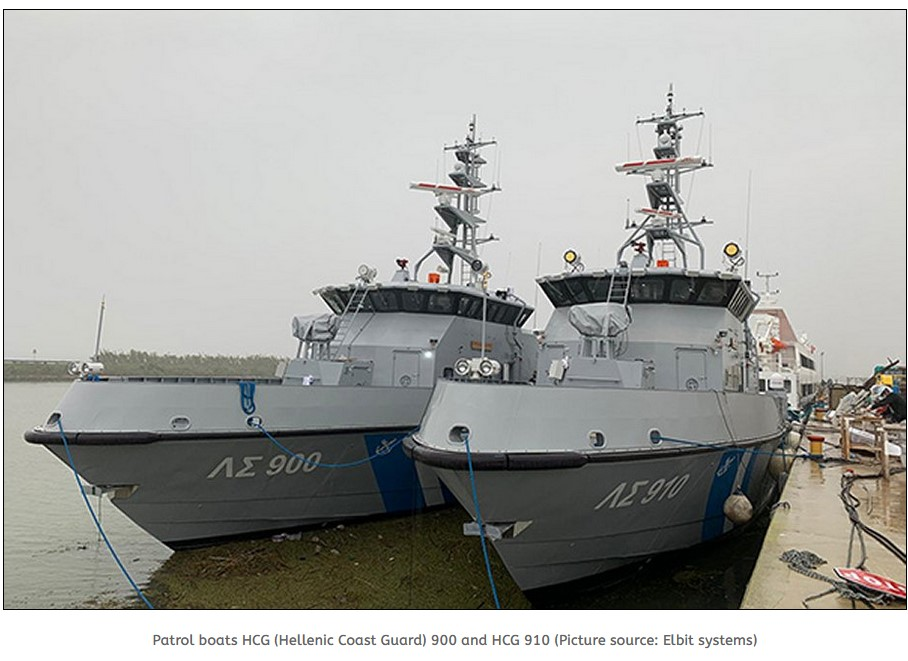 Elbit Systems completes tests for Hellenic Coast Guard patrol boats