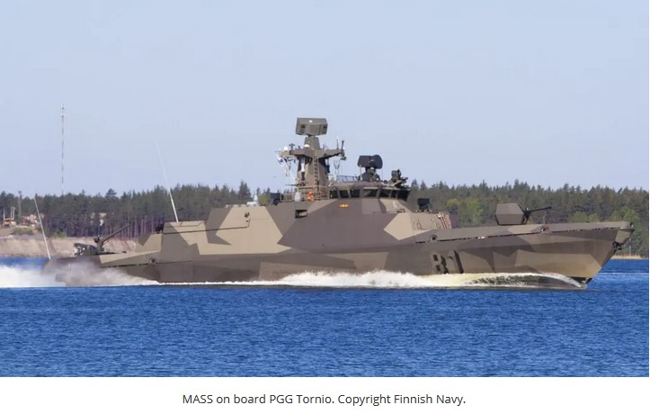 Rheinmetall delivers 300th MASS naval countermeasures system