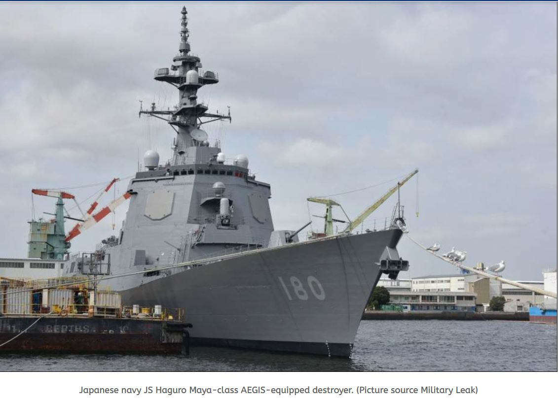 Japan plans to acquire two new vessels equipped with AEGIS combat system