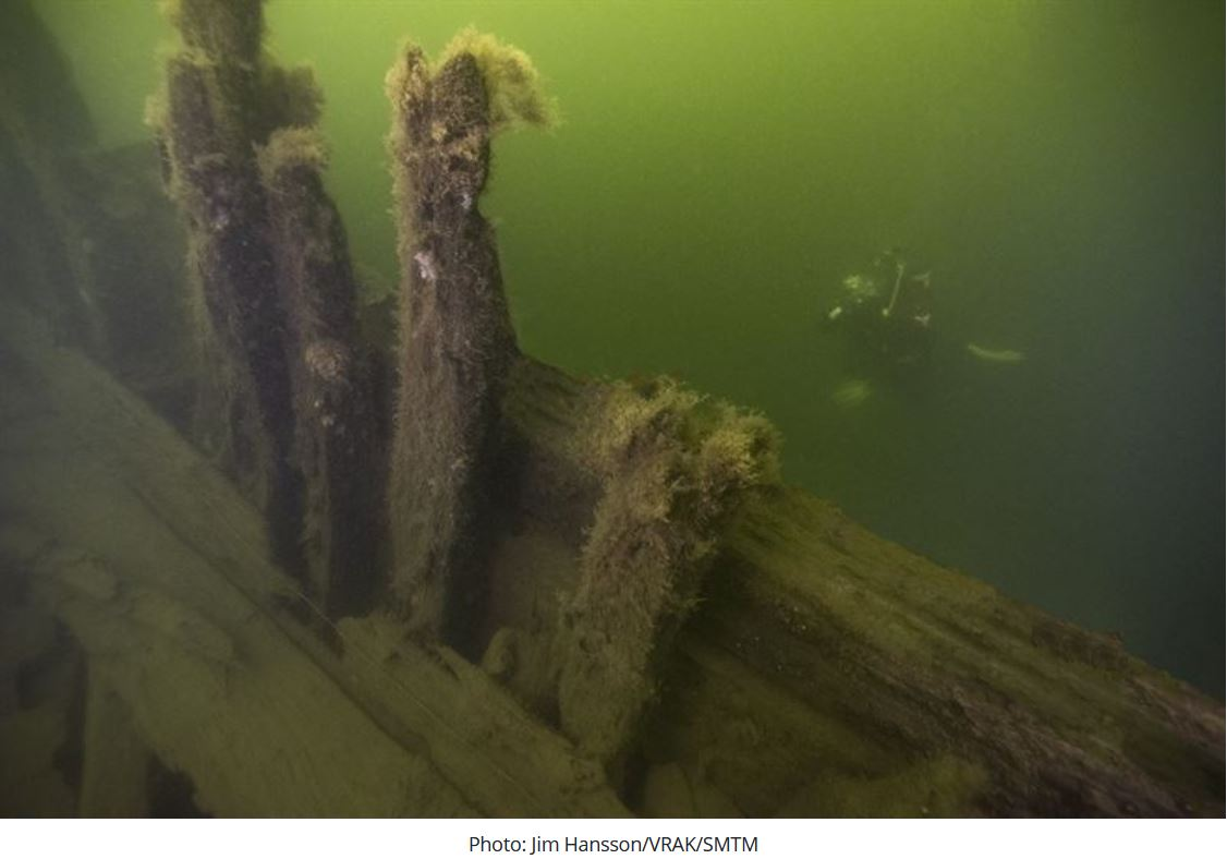 Sweden identifies wrecks of warships discovered in 2019