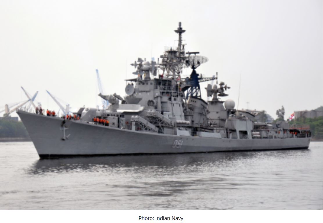 Indian Navy to decommission its 1st destroyer