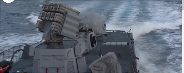 Israeli Navy engages in defensive and offensive operations in Gaza