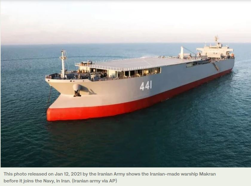 US officials monitoring two Iranian navy ships that may be headed to Venezuela: report