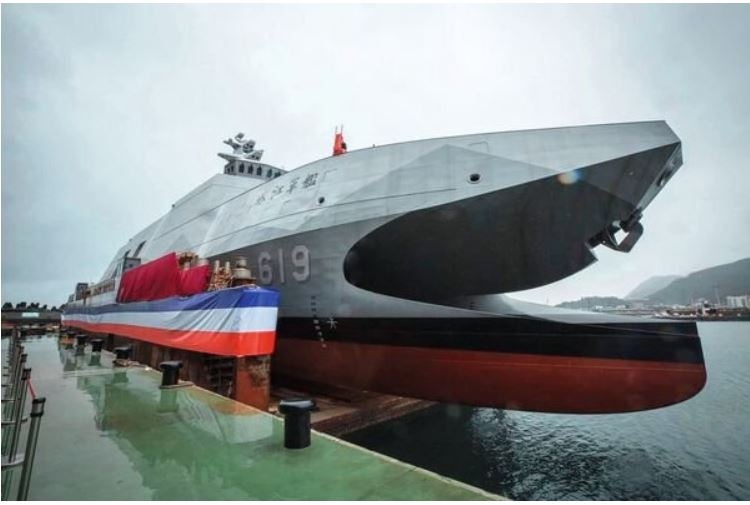 Taiwanese navy completes trials of 'Sea Sword II' air-defence missile
