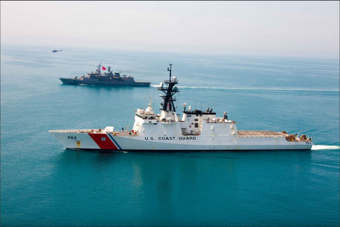 USCGC Hamilton Conducts Operations with the Turkish Navy