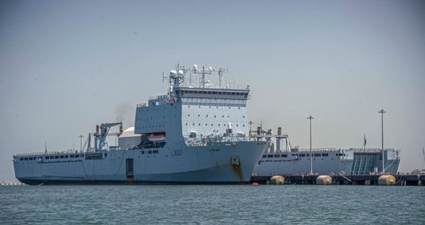 Navy's 'mother ship' completes four-year Gulf mission